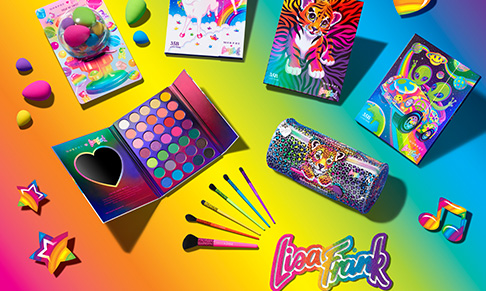 Morphe collaborates with Lisa Frank