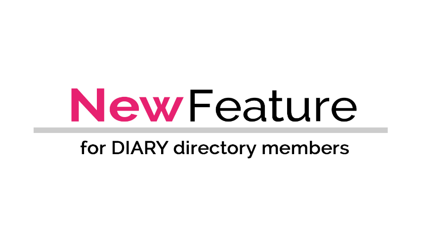 NEW feature for DIARY directory members - new media type filter for podcasts