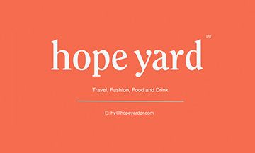 New agency, Hope Yard PR launches with client announcement