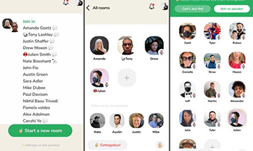 New social network app Clubhouse launches