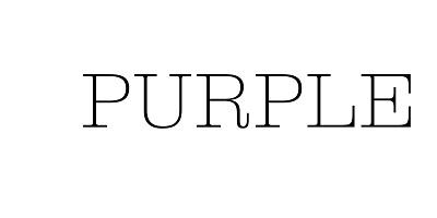 PURPLE - beauty PR Account Manager job in London - LOGO