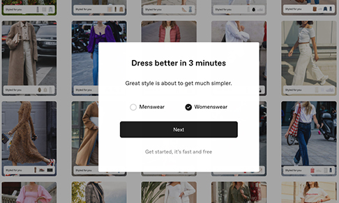 Personalised styling platform Thread introduces womenswear