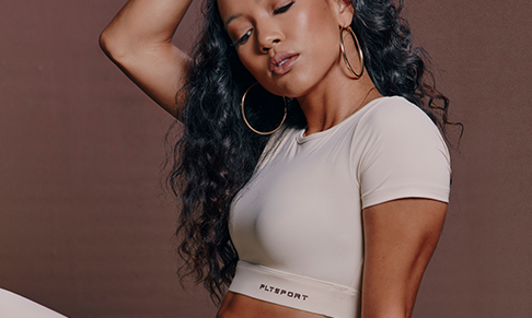 PrettyLittleThing collaborates with Karrueche Tran on athleisure edit