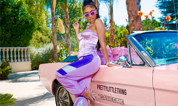 PrettyLittleThing collaborates with Saweetie