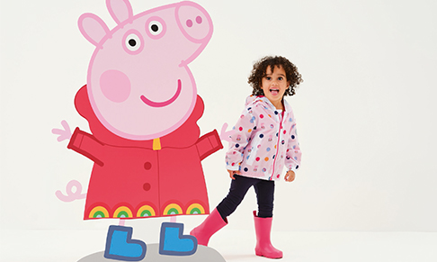 Regatta Great Outdoors collaborates on Peppa Pig range for kids