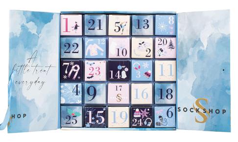 SOCKSHOP unveils 2021 Christmas Advent Calendars
