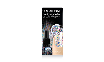 SensatioNail Unveil Chrome Gel Manicure + No Wipe Topcoat Duo