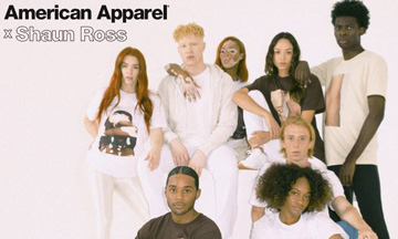 American Apparel announces Shaun Ross collaboration