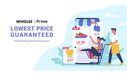 Shopping app Wholee Prime launches in UK