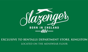 Slazenger announces collaboration with Bentalls