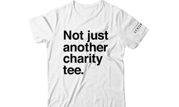 Style For Stroke launches as a foundation and unveils #NotJustACharityTee campaign