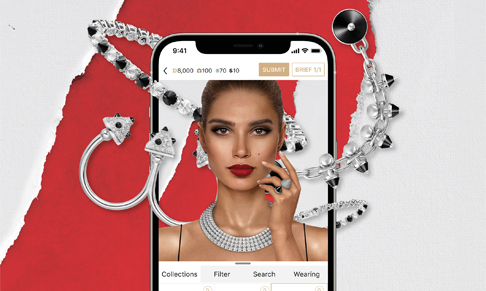 Styling game DREST partners with Cartier