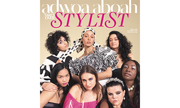 Adwoa Aboah edits Stylist for its 10th anniversary celebrations