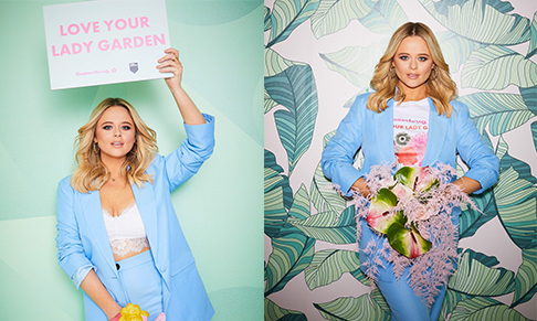 Superdrug partners with The Lady Garden Foundation & Emily Atack