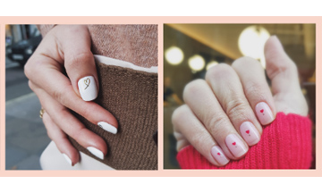TOWNHOUSE collaborates with Cher Webb for Valentine's nail art