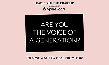 The Hearst Talent Scholarship launches with SpareRoom