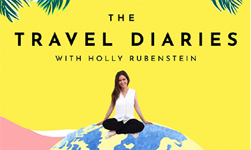 The Travel Diaries podcast launches