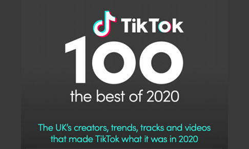 TikTok reveals The TikTok 100 - 2020 Year in Review
