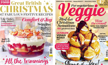 Veggie and Great British Food magazine appoint content writer