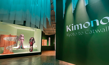 Victoria & Albert Museum unveils curator tour of Kimono: Kyoto to Catwalk exhibition