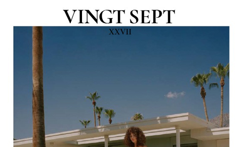 Vingt Sept magazine names fashion assistant