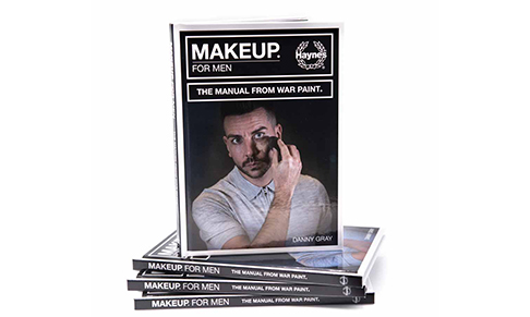 War Paint For Men debuts manual dedicated to men's make-up