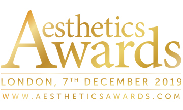 Winners announced at Aesthetics Awards 2019