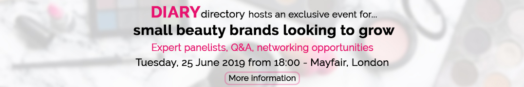 DIARY directory Event : 'Looking To Grow Your Beauty Business?'