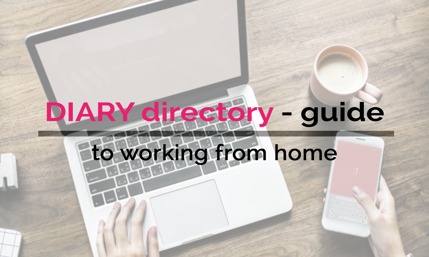 DIARY directory's guide to Working From Home