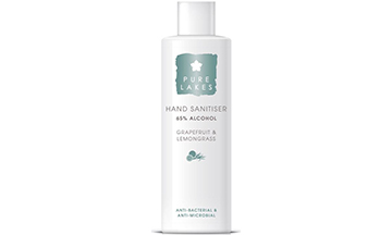 Skincare brand Pure Lakes launches hand sanitiser