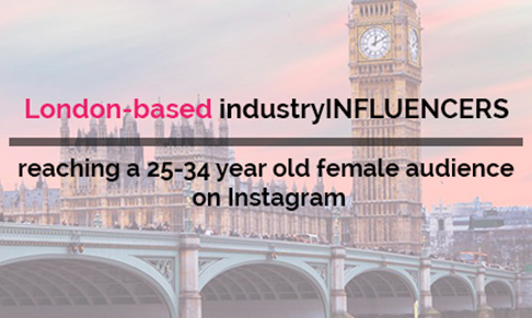 London-based female influencers Killing it on Instagram!