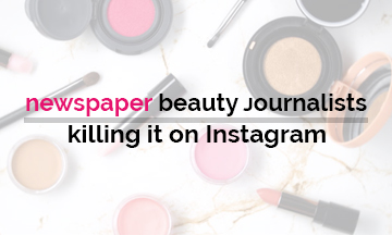 Newspaper beauty contacts killing it on Instagram!
