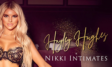 Lingerie brand Nikki Intimates collaborates with Hayley Hughes