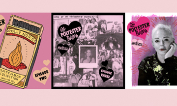 Polyester magazine announces podcast series