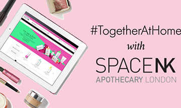 Space NK announces #TogetherAtHome initiative