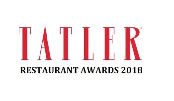 Tatler Restaurant Awards 2018 winners announced